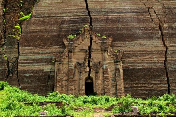 mingun pagoda sagaing myanmar